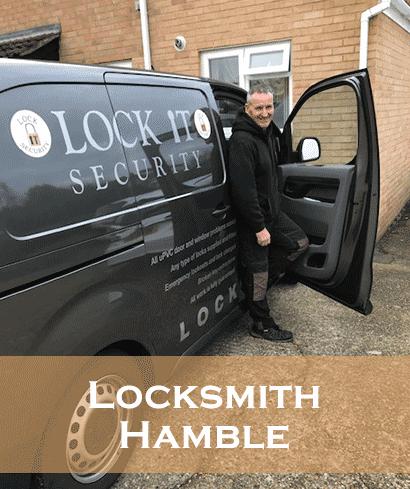 Locksmith hamble-Eddie in his Van
