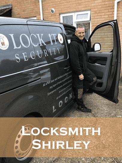 Locksmith-shirley-Eddie in his Van