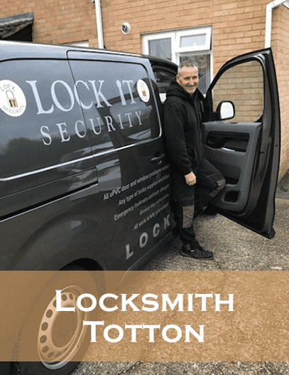 locksmith Totton - Eddie Davies with his Locksmits Totton Van