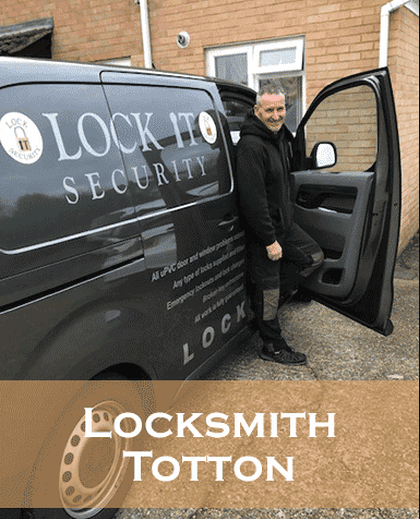Locksmith-totton-Eddie in his Van