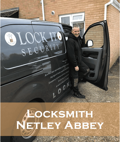 Locksmith-netley-abbey-Eddie in his Van